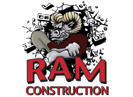 RAM Construction Retina Logo